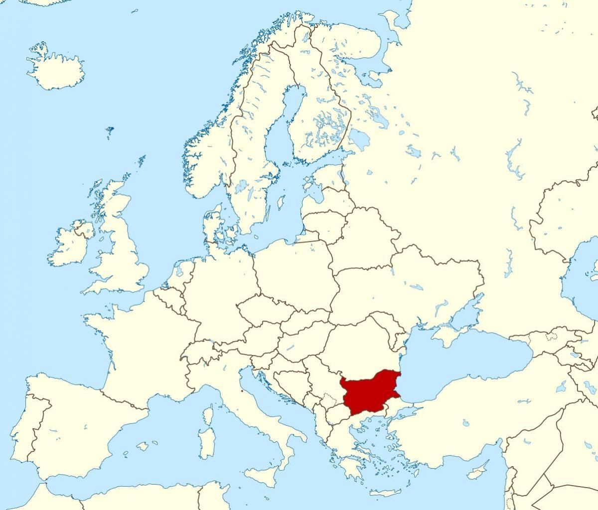 Norveška : Turska je naš saveznik a Njemačka i Francuska neprijatelji Bugarska-je-na-karti-svijeta